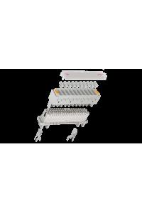 Трехконтактный разрядник NIKOMAX, для защиты плинтов по напряжению, используется с магазином защиты по напряжению, уп-ка 100шт.