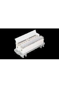 Рамка для маркировки плинтов NIKOMAX, для установки на плинты или магазин защиты, откидная, прозрачная, уп-ка 10шт.