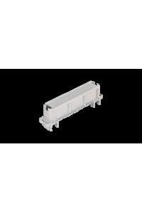 Рамка для маркировки плинтов NIKOMAX, для установки рядом с плинтами, крепление под кронштейн и круглые направляющие, серая, уп-ка 10шт.
