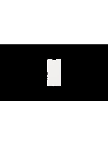 Вставка-заглушка NIKOMAX, французский формат Mosaic, 22,5x45мм, белая купить с доставкой в Ростове-на-Дону - Смарт