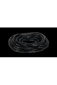 Лента NIKOMAX спиральная для организации и защиты кабельных пучков, диаметр 15мм, толщина 1,5мм, для пучка до 75мм, черная, 10м