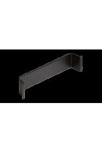 """Конструктив NIKOMAX 19"""", 2U, используется с кронштейнами для установки плинтов в шкаф или стойку, черный"""