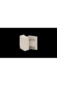 Бокс настенный распределительный NIKOMAX, на 3 плинта (до 30-ти пар), с кронштейнами, пластиковый, 150х105х56мм, бежевый