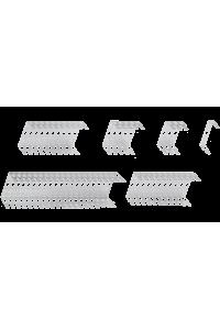 Кронштейн NIKOMAX настенный, на 1 плинт, металлический, уп-ка 2шт.