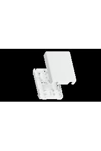 Корпус волоконно-оптической настенной розетки NIKOMAX, до 2 портов SC или LC, белый