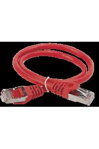 ITK Коммутационный шнур (патч-корд), кат.5Е FTP, 0,5м, красный