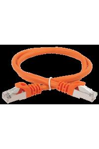 ITK Коммутационный шнур (патч-корд), кат.5Е FTP, 0,5м, оранжевый