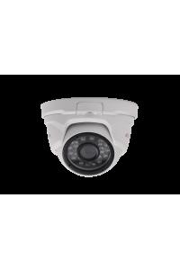 "Видеокамера купольная AHD 5М; 1/2.8"" Sony Exmor CMOS (IMX335), AHD: 5М(2560х1944)/4М(2560х1520); фикс 2.8мм; ИК 20м; OSD(JS; coax); металл; IP66; -40..+50°C; DC 12В (500мА)"