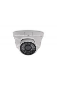 """Видеокамера купольная AHD 5М; 1/3.2"""" Omnivision CMOS (OV5658), NextChip (NVP2475H); AHD: 5М(2560х1944); фикс 3.6мм; ИК 20м; OSD(JS; coax); металл; IP66; -40..+50°C; DC 12В (500мА)"""