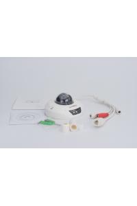 """Купольная 2Мп IP-камера; 1/2.9"""" Sony ExmorIMX323; Оcн.п.: 1080P@25к/с;в.п.: Cif, D1@25;H.264/Mjpeg фикс. 2,8мм;ИК до 25м;аудио вход/выход;встроенный микрофон:металл  (IP66); -40…+50°С;слот для miscro- SD;DC12В, встроенный моуль PoE IEEE 802.3af"""