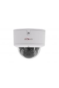 """Купольная 4Мп IP-камера;1/3"""" Omnivision CMOS (OV4689);Кодек H.264/H.265; Осн.п.: 4M @ 18к/с, 3M/1080p @ 25 к/с, в.п.: Cif,D1 @ 25 к/с; варио 2,8-12 мм;ИК  до 25м;аудио вход/выход;металл (IP66)-40…+50°С ; USB порт для Flash накопителей;DC12В, PoE IEEE 802.3af"""