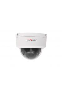 """Купольная 4Мп IP-камера; 1/3"""" Omnivision CMOS (OV4689);Кодек H.264/H.265; Осн.п.: 4M @ 18к/с, 3M/1080p @ 25 к/с, в.п.: Cif,D1 @ 25 к/с; варио 2,8-12 мм;ИК  до 40м;аудио вход/выход;пластик; -10..+50°C; USB порт для Flash накопителей;DC12В, PoE IEEE 802,3af"""