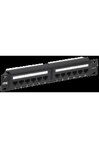 """ITK 1U патч-панель кат.6 UTP 12 портов 10"""" Dual IDC"""