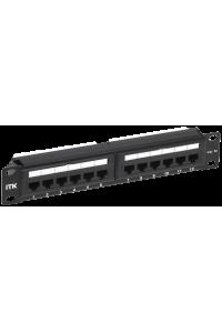 """ITK 1U патч-панель кат.5E UTP 12 портов 10"""" Dual IDC"""