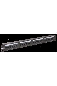 ITK 1U патч-панель кат.6 UTP, 24 порта (Dual)