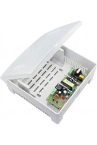 Блок бесперебойного питания в пластиковом корпусе под АКБ 7 Ач. Напряжение питающей сети: 100-240 В;Частота сети 50 или 60 Гц; Выходное напряжение 12 В;Выходной ток: 2A (максимально); Средний ток заряда АКБ 0.4A (0,5А максимально);Под АКБ 12 В 7 А; Защит