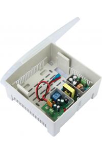 Блок бесперебойного питания в пластиковом корпусе под АКБ 7 Ач. Напряжение питающей сети: 100-240 В;Частота сети 50 или 60 Гц; Выходное напряжение 12 В;Выходной ток: 5A (максимально); Средний ток заряда АКБ 0.6A  максимально;Под АКБ 12 В 7 А; Защита от к