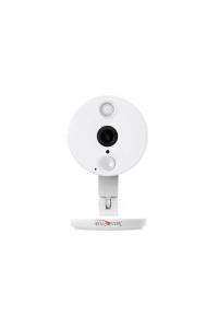 """2Мп WiFi IP-камера; Sony Exmor 1/2,8"""" IMX323; Основной поток: 1080p@25 к/с, суб.поток: D1/CIF @ 25 к/с; объектив 2.8 мм; ИК до 10м; встроенные микрофон и динамик; PIR сенсор (датчик движения); поддержка MicroSD (до 128ГБ);  ONVIF, RTSP, RTMP (онлайн трансляция), облако, Wifi IEEE802.11bgn 2.4ГГц, корпус пластиковый,-10..+50°C,DC 5В (БП в комплекте)"""