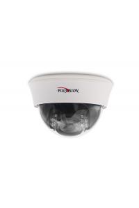 "Видеокамера купольная AHD/TVI/CVI/аналог; 1/2.5"" SOI CMOS(K03); 5М(2560х1944)@20к/с, 4М(2560х1520)@25к/с; варио 2.8-12мм; ИК 25м; OSD: 2/3DNR, DWDR, BLC/HLC; JS; пластик; -10..+50°C; DC 12В (500мА)"