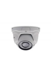 "Купольная 2Мп IP-камера; 1/2.8"" Sony Exmor CMOS (IMX307), HiSilicon (Hi3516E v100); H.264/H.265; Осн.п.: 1080p/720p @ 25 к/с, суб.п.: D1/CIF @ 25 к/с; варио 2.8-12мм; ИК 35 м; аудиовход (G.711A); ONVIF; RTSP; металл (IP66); -40..+50°C; DC 12В (700мА), PO"