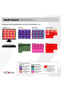 Мультигибридный видеорегистратор 16-ти канальный; H.264/H.264+; 16x5M@11к/с (AHD); 16x4M@14к/с (AHD); 16x3M@18к/с (AHD); 16x1080P(5в1); 4IPx5M+4AHDx5M; 32IPx1080P; 16IPx3M; 8IPx5M; воспроизведение одновременно - до 8 каналов; видеовыходы - HDMI(4K), VGA; Аудио G.711А - 4/1 RCA; Трев. вх/вых - 8/1; HDD - 2 SATA (до 10ТБ); Сеть - 1Гб (RJ45); RS-485;Coax; DC 12В (4А)