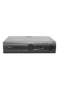 32-х канальный IP-видеорегистратор с поддержкой протокола ONVIF,Linux; H.264/H.265; DSP - Hisilicon Hi3536; Поддержка видеокамер 24x5M/32x3M/1080p; Воспр.одновр. - 4/9/16; Выходы - HDMI(4K), RCA; HDD - 8 SATA (до 10ТБ); Трев.вх./вых. - 16/4; Сеть - 1 Гб (RJ45); RS-485, RS-232; AC 220В (100Вт)