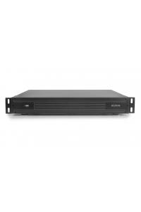 32-х канальный IP-видеорегистратор с поддержкой протокола ONVIF,Linux;  H.264/H.265; Поддержка видеокамер 32x5M/16x3M/8x8М(4K); Воспр.одновр. - 4/8/2 ;Выходы - HDMI(4K), VGA, RCA; Аудиовыход :HDD - 4 SATA (до 10ТБ);  Сеть - 1 Гб (RJ45);  DC 12В (6А)