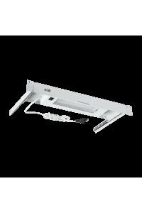 """Блок освещения TLK, 19"""", 1U, выдвижной, Г255мм, серый"""