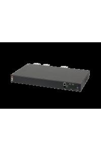 """Блок  контролируемых электрических розеток TLK, 19"""", AT - ATS, Автоматическое переключение питания между вводными линиями, включение и отключение каждой розетки, измерение потребления каждой розетки и отправка показаний через LAN, 1 винтовая клемма, макс. нагрузка 32 А, Счетчик электроэнергии кВт*ч, 2 ввода питания,  2* винтовая вводная клемма, металлический корпус, макс. мощность 8 000 Вт, 432*44,45*260 мм, цвет черный."""