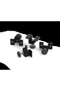 Опора регулируемая TLK для настенных шкафов TWC-R, упаковка 4шт, черный
