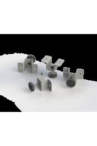 Опора регулируемая TLK для настенных шкафов TWC-R, упаковка 4шт, серый