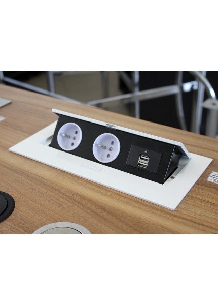 Настольные кабельные органайзеры DLP desk